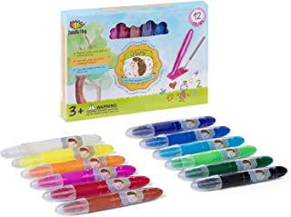 Not Your Ordinary Crayons, 3 in 1 Extraordinary Bolder Crayons, Pastel and Watercolor Effects (12 Colors)