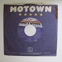 Lionel Richie 45 RPM Hello / You Mean More To Me