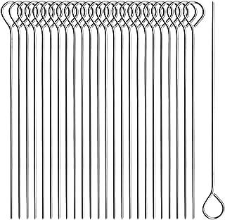 com-four 25x Rouladennadeln aus Edelstahl - 11 cm lange Fleischspieße - premium Spieße im Set 025 Stück - Nadel