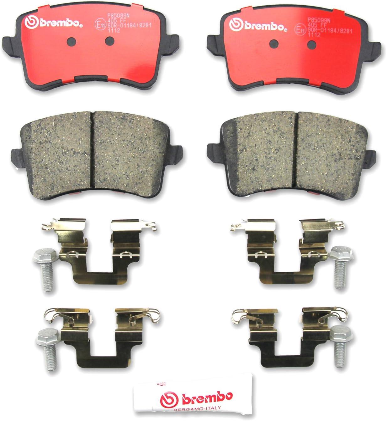 Disc Brake Pad Set-Premium Low-Met OE Equivalent Pad Rear Brembo P50099