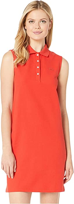 Sleeveless Classic Polo Dress