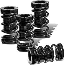 For Civic/CRX/Del Sol/Integra Aluminum Scaled Coilover Kit (Black Spring, Black Sleeve, Black Perch)