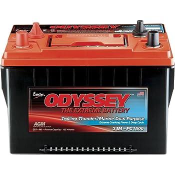 Odyssey 34M-PC1500ST-M TROLLING Thunder Marine Dual Purpose Battery