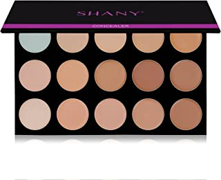 """SHANY Masterpiece 15 Color Foundation, Concealer, Camouflage Palette/Refill -""""TONED"""""""