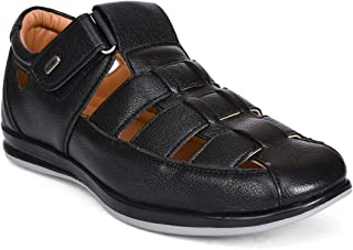 Action Synthetic Leather Outdoor Formal Casual Ethnic Loafer Slip-On Sandal Shoes