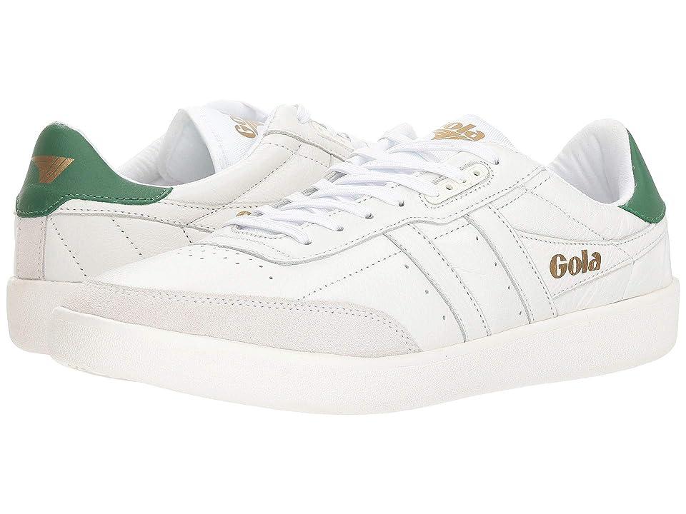 Gola Inca Leather (White/White/Green) Men