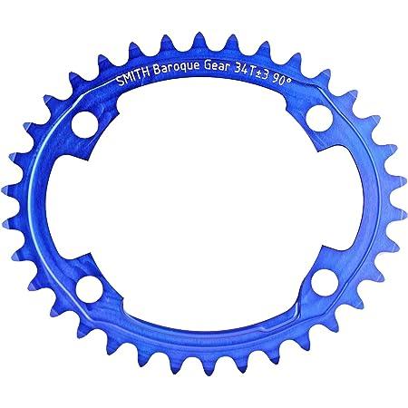 Baroque Gear 34T ±3 90° 4穴 青Blue