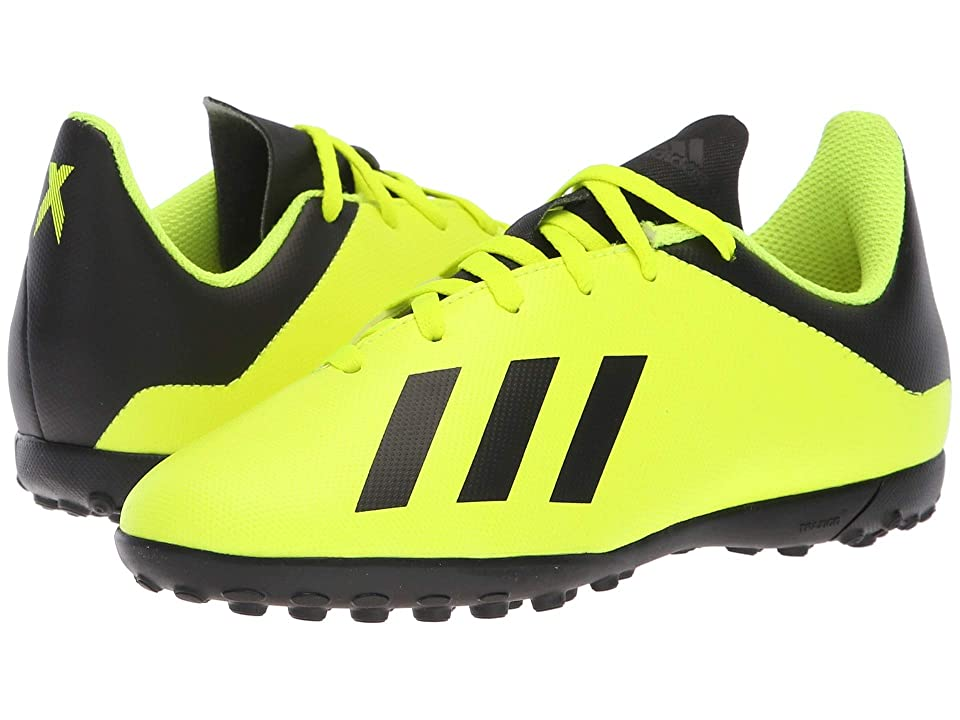 adidas Kids X Tango 18.4 TF Soccer (Little Kid/Big Kid) (Solar Yellow/Black/Solar Yellow) Kids Shoes