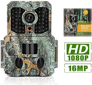 Clobo Trail Camera, 16MP 1080P Waterproof Wildlife Scouting Hunting Camera with 120°Wide Angle Lens,0.2s Trigger Speed,2.4