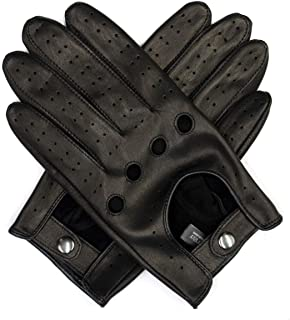 Best black leather driving gloves mens Reviews