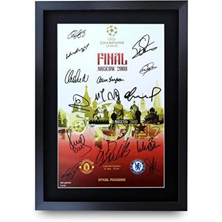 Roy Keane Signed A4 Framed Printed Autograph Manchester United MUFC Print Gift