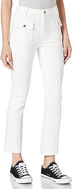 Morgan Denim Cropped Pikal Jeans Femme