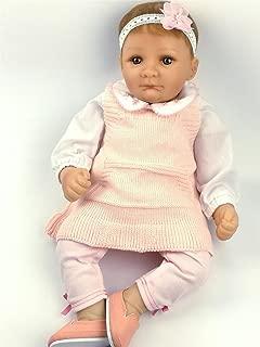 AVANI DOLL ''Nancy'',20 inch Reborn Baby Doll Handmade Soft Vinyl Baby Doll That Looks Real,Realistic Lifelike Baby Girl Doll