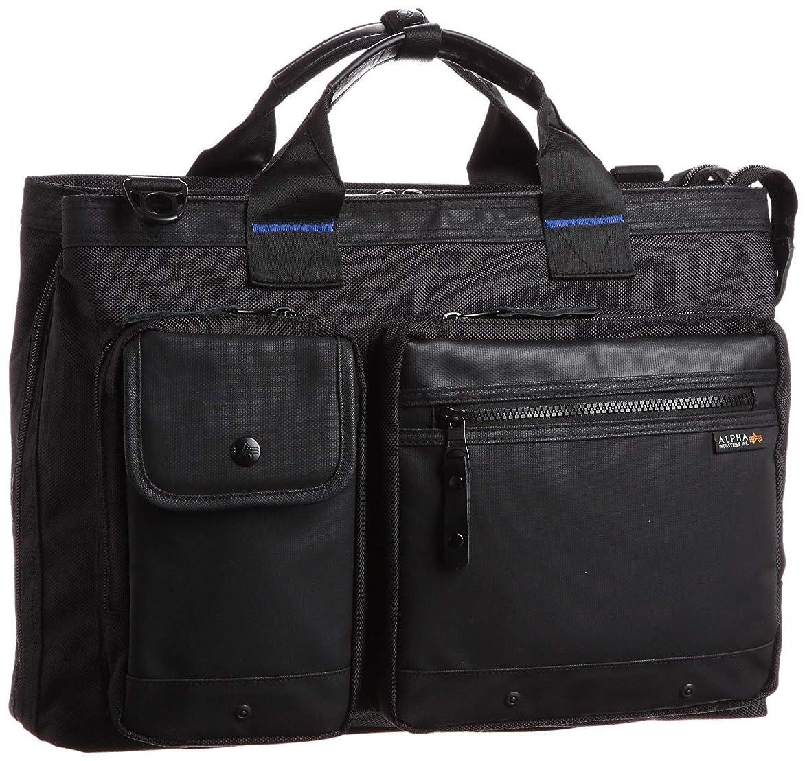 冷蔵庫安全なほのめかす[アルファインダストリーズ] ビジネスバッグ メンズ a4 撥水 CBブルーライン トートビジネスバッグ 4726