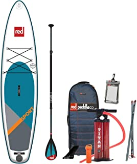 Red Paddle Co 2019 11'0 Sport Inflatable SUP with Carbon 50 Nylon 3 Part Paddle