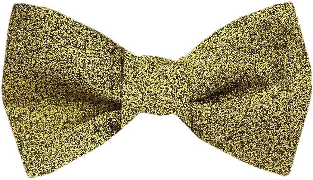 FBTZ-1259 - Men's Silk Self Tie Bowtie Tie Yourself Bow Ties