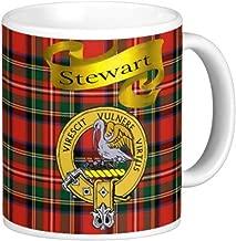 Scottish Clan Stewart on 11 Oz. Ceramic Coffee Mug Clan crest on both sides