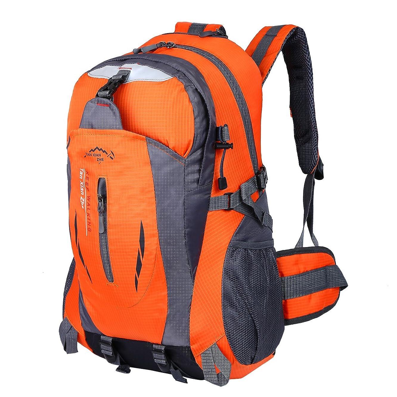 HWJIANFENG Hiking Backpack Trekking Travelling Cycling Backpack Riding Rucksack Mountaineering Outdoor Sports Daypack Ultralight Laptop Bag Waterproof Men Women 30L