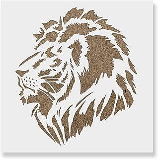 Best lion stencil wall Reviews