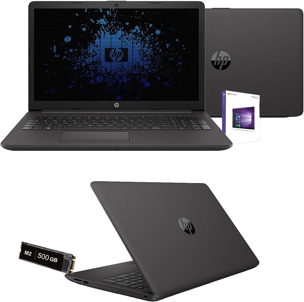 Notebook hp intel core i3 10th gen. pc portatile ram 16gb ddr4 ssd nvme 500 gb m2 monitor 15 6