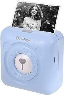 Aibecy goojprt peripage Mini Pocket Impresora térmica inalámbrica BT Image Etiquette Photo Mémo Impresora recibo con Cable...