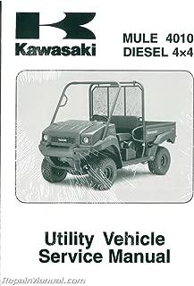 99924-1408-03 2009-2011 Kawasaki KAF950F Mule 4010 Diesel 4×4 Service Manual