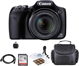 $349 » Canon PowerShot SX530 HS Wi-Fi Digital Camera with 32GB Card + Case + HDMI+USB+Kit
