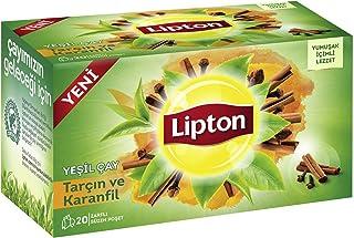 Lipton Tarçın Karanfilli Bardak Poşet Yeşil Çay 20'Li