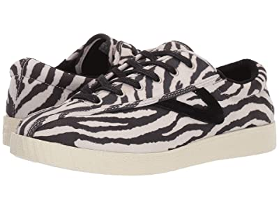 Tretorn Nylite 37 Plus (White/Black Zebra) Women