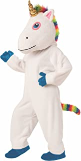 Unisex-Adult's Deluxe Unicorn Mascot Costume, as Shown
