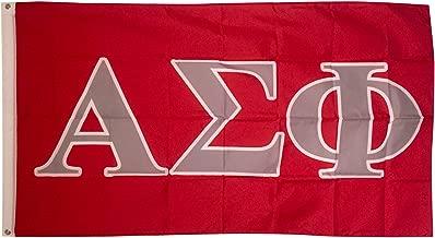 Alpha Sigma Phi Letter Fraternity Flag 3 Foot x 5 Foot Banner Greek Letter Sign Decor Alpha Sig