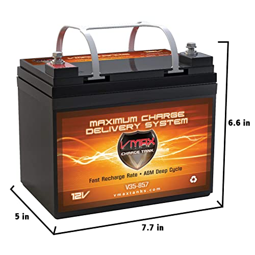 12V Deep Cycle Marine: Amazon com