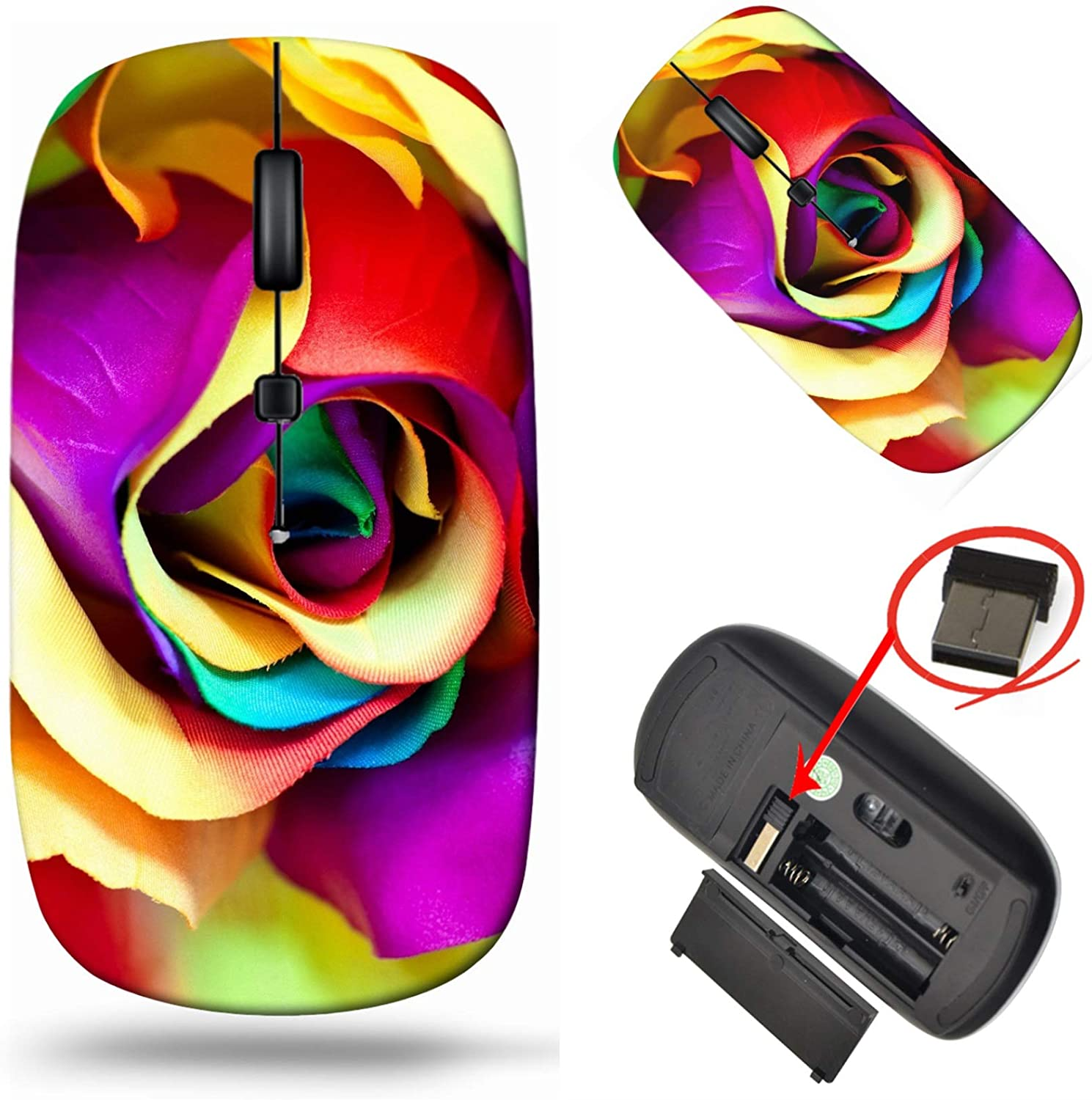 MSD Laptop Wireless Mouse Computer Branded goods USB Tra 2.4G