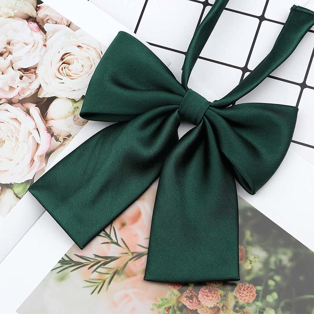 CDQYA Women's Shirts Bowtie Ladies Girl School Wedding Party Bowknot Classic Butterfly Knot Suits Accessories (Color : C)