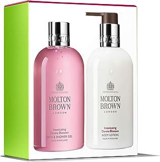 Molton Brown – Body Duo – Gel de ducha y loción corporal – Davana Blossom – 2 x 300 ml – Juego de 2