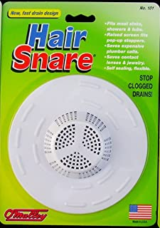 Hair Snare Drain Cover Universal - White