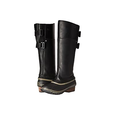 SOREL Slimpack Riding Tall II (Black/Kettle) Women