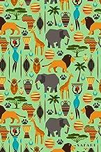 Safari: Tanzania South Africa Botswana Serengeti Notebook Journal Diary for Men, Women, Teen & Kids