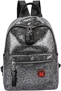 Easong Large Capacity Student Bag  Unisex Backpack  Laptop Backpack  Girls Wild Burst Crack Nylon Backpack Student Bag  Antitheft Backpack Computer Bag Travel Bag Backpack Handbags