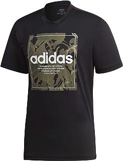 تي شيرت رجالي من Adidas مطبوع عليه M CAMO BX (أكمام قصيرة)