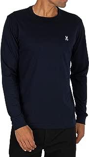Mens Crew Neck Long Sleeve T-Shirt