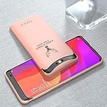 جراب EUDTH Oppo Find X، جراب من البلاستيك الصلب السائل النحيف [بلمسة نهائية غير لامعة] غطاء حماية كامل الهيكل مضاد للسقوط لهاتف Oppo Find X - Elk Pink