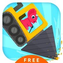 Dinosaur Digger 2 - Truck Simulator Games for Kids Free