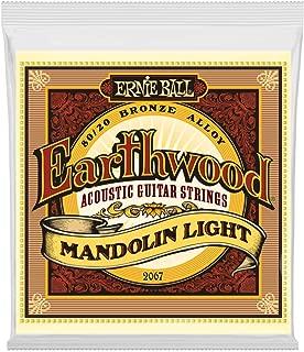 Ernie Ball Earthwood Mandolin Light 80/20 Bronze Loop End Set, .009 - .034