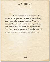 aa milne quotes if ever there tomorrow