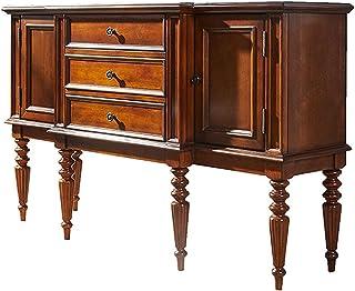 QINJIE Buffet Buffet Armoire Table Console Armoire de Rangement, Armoire de Rangement de Table Console en Bois, pour Salo...