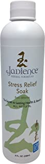 Jadience Herbal Formulas Stress Relief Bath Or Foot Spa Soak: 8 Oz - For Overall Mind & Body Relaxation And Stress Reducti...