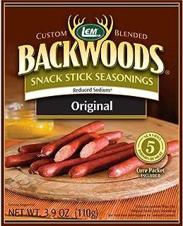 LEM 9161 Backwoods Low Sodium Snack Stick Seasoning (5-Lbs)