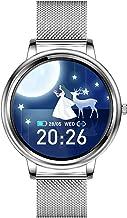 Docooler SmartWatch dames full-screen touch IP67 waterdicht hartslag/bloeddruk/slaapmonitoring ondersteunt meerdere sportm...