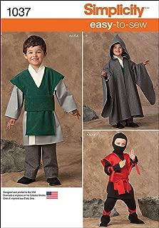 Best ninja costume pattern simplicity Reviews